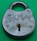 Old Fremont Steel Lock