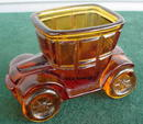 Amber Glass Early Automobile Toothpick