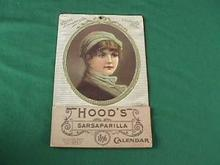 1896 Hood's Sarsaparilla Adver. Calendar