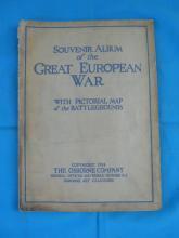 Souvenir Album Great European War Osborne Co. 1914