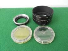 Tiffen Lens Hood Adapters Colored Lenses