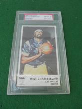 1972 Icee Bear Wilt Chamberlain Basketball Card Los Angeles Lakers PSA 8