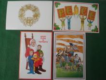 Mid 1970s Bob Hope Christmas Cards