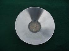 Italian Coin Stainless Ashtray