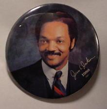 1988 Jessie Jackson Political Pinback