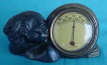 McClelland Barclay Figural Head Desk Thermometer
