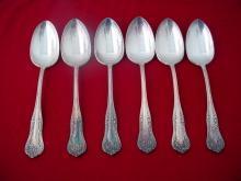 6 International Rogers Spoons America