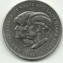 1981 Prince Charles & Lady Diana Commemorative Wedding Coin Silver?