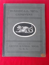 Early 1900's Waddell Mfg. Co. Catalog Wood Products Moulding Carvings Etc.