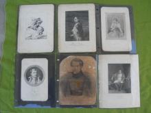 Various Old Prints Napoleon Bonaparte Josephine