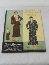 1932 Spring/Summer Lane Bryant Fashion Catalog