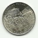 Whitehead & Hoag Pony Express Diamond Jubliee 1935 Coin Token