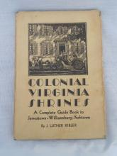 Colonial Virginia Shrines Luther Kibler