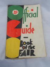 .1933 Chicago World's Fair Guide