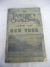 Taintor Bros. New York City Guide 1895