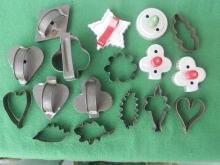 Lot of Old Cookie Cutters