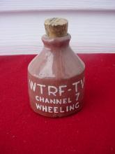 WTRF-TV Channel 7 Wheeling WV Mini Crock Jug