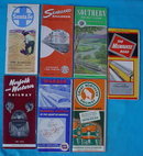 1950's Railroad Timetable Booklets