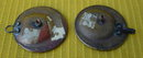 Pr. of Lg. Early Matching Buttons w/Clowns
