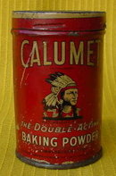 Old Calumet Baking Powder Salesman Sample Tin?