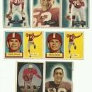 1950's San Francisco 49ers Football Cards