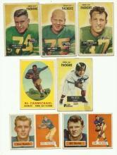 1950's Green Bay Packers Football Cards