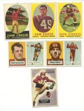 1950's Washington Redskins Football Cards