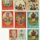 1950's Los Angeles Rams Football Cards