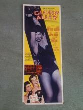 14X36 Movie Poster Glory Alley Ralph Meeker Leslie Caron Kurt Kasznar