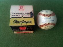 1950's MacGregor Official Little League Baseball B76C MIB Sealed Never Used