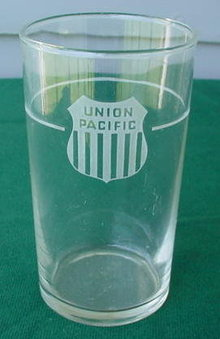 Union Pacific Water Glass