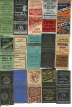 Old Pharmacy Drug Store Matchbook Cover Collection