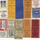 Matchbook Collection Ohio Political Elections Sheriff Auditor Councilmen Judge