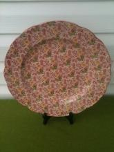 John Maddock England Floral Round Platter