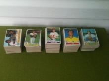 1979 Topps Baseball Cards Partial Set
