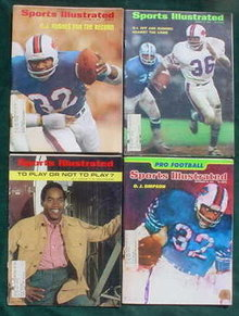 O.J. Simpson Sports Illustrated's