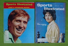 Bobby Fischer & Lisa Lane Chess Champion SI's