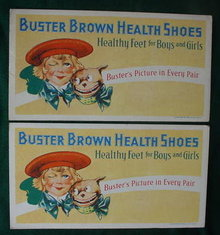 Pr. of Adver. Buster Brown Ink Blotters