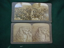 Pr. of Early Japanese Army Stereoview Cards