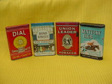Lg. Tobacco Pocket Tin Collection