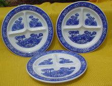 3 Warwick Tudor Rose 9 in. Grill Plates