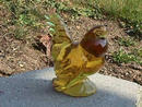 HEISEY BY IMPERIAL SUNSHINE YELLOW HEN