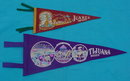 Pr. of Mexico Souvenir Felt Pennants
