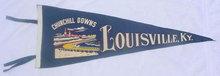 Churchill Downs Kentucky Derby Louisville, Ky Pennant