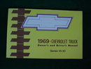 1969 Chevy Truck Owner's & Driver's Manual