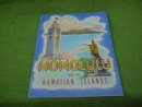 Honolulu Souvenir Book w/Org. Mailer & PC's