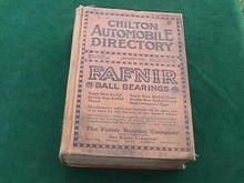 1921 CHILTON AUTOMOBILE DIRECTORY