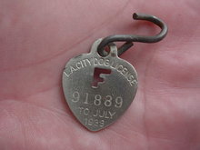 1939 L.A. City Dog Tag