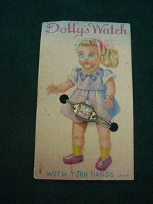 Old Dolly's Watch on Card