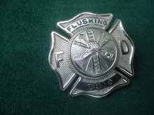 Flushing, Ohio Fire Dept. Badge